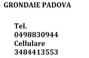 RIFARE GRONDAIE A PADOVA